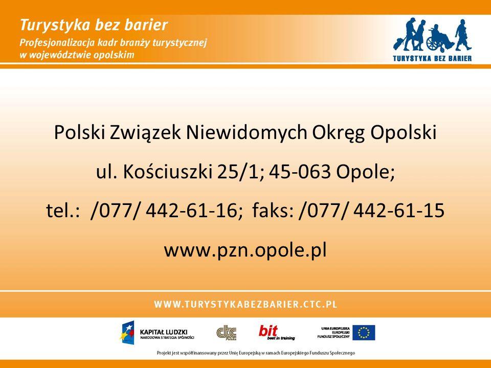 Polski Związek Niewidomych Okręg Opolski