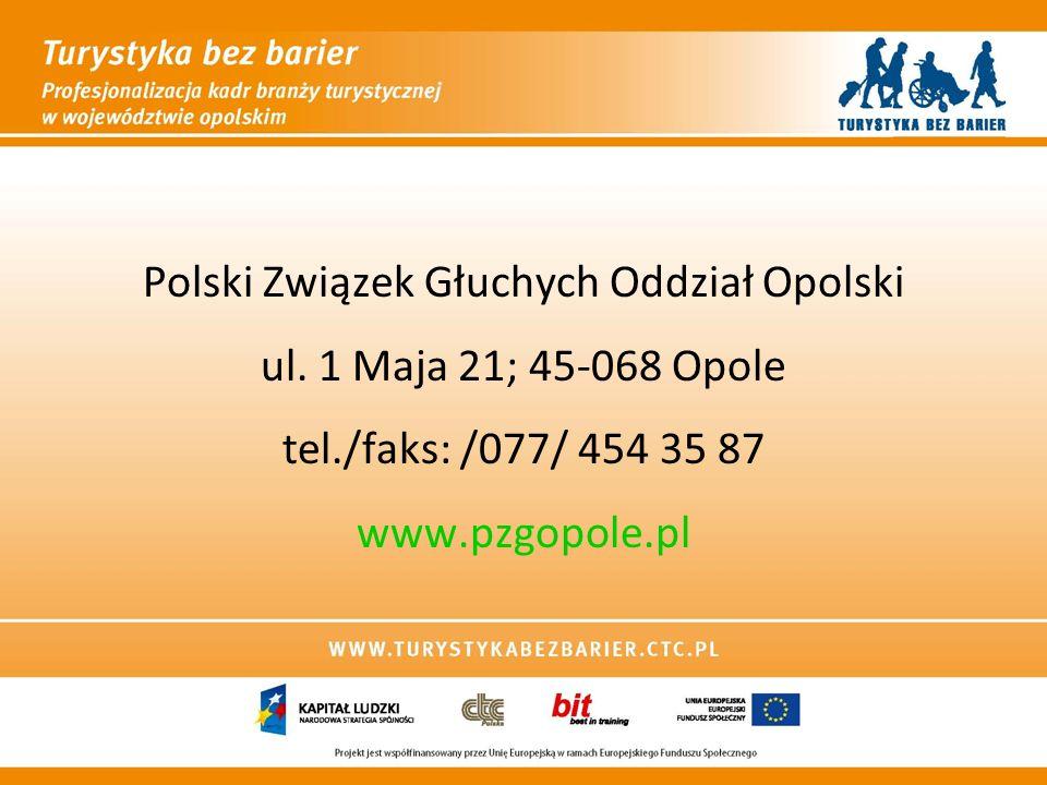 Polski Związek Głuchych Oddział Opolski