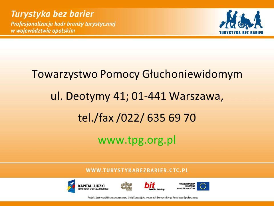 Towarzystwo Pomocy Głuchoniewidomym