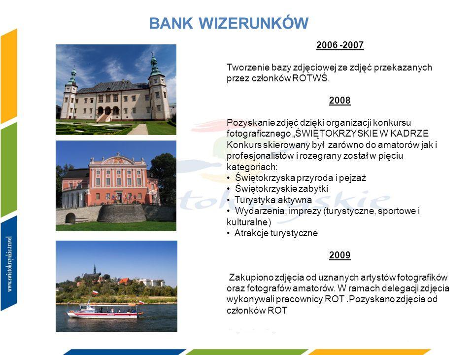 BANK WIZERUNKÓW 2006 -2007. Tworzenie bazy zdjęciowej ze zdjęć przekazanych przez członków ROTWŚ. 2008.