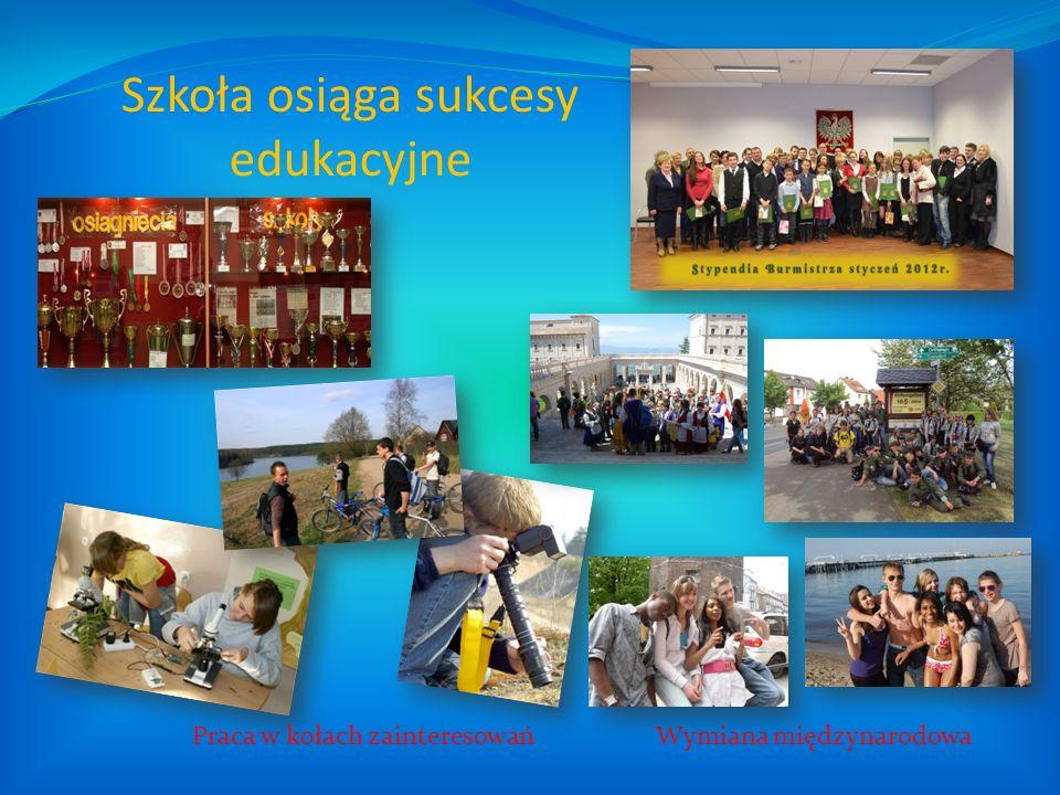 Szkoła osiąga sukcesy edukacyjne