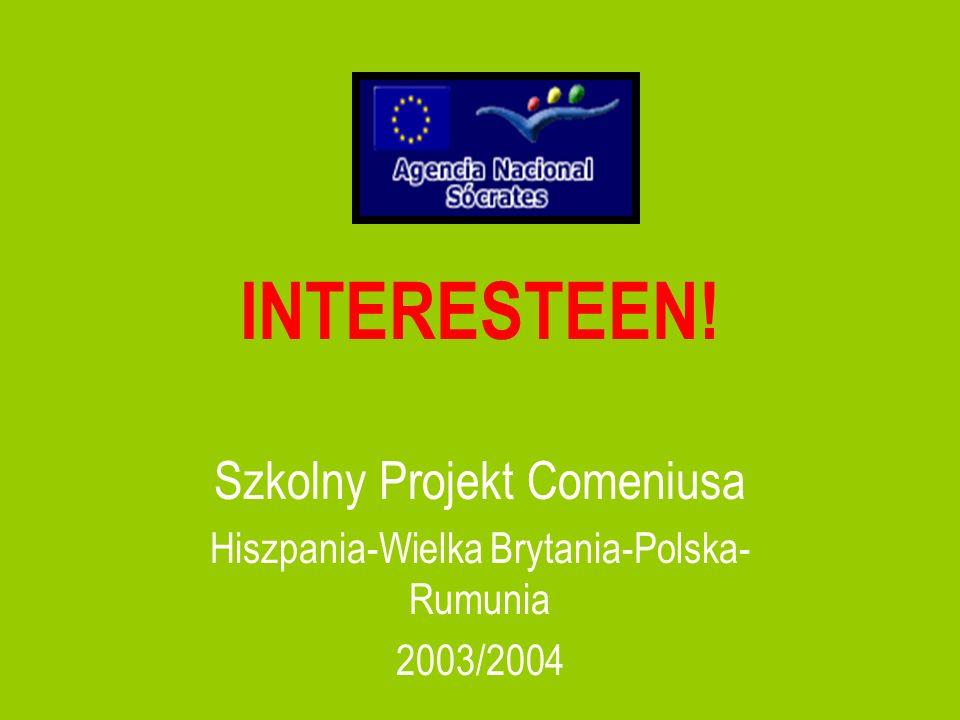 INTERESTEEN! Szkolny Projekt Comeniusa