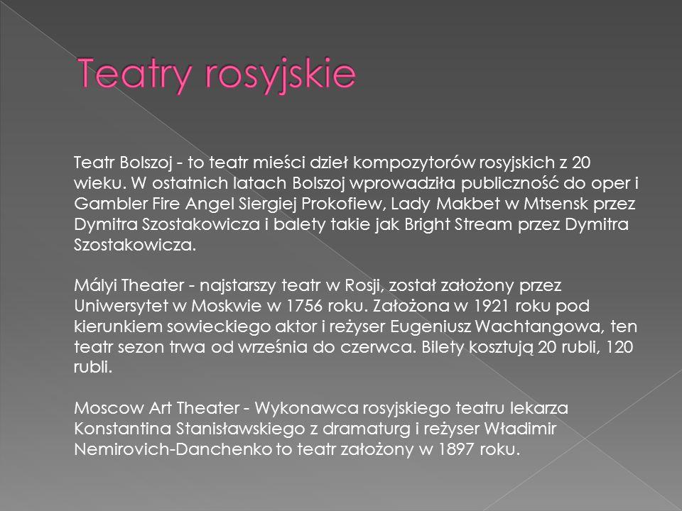Teatry rosyjskie