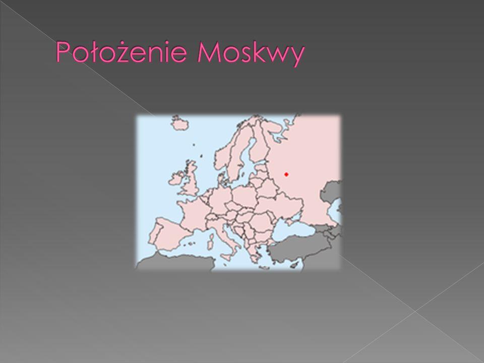Położenie Moskwy