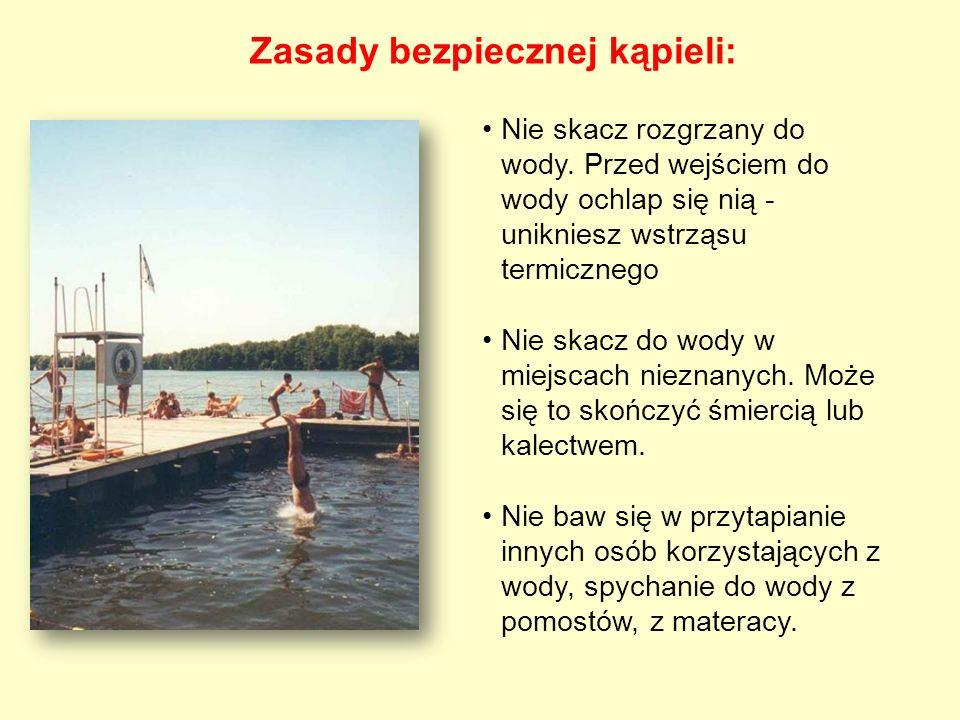 Zasady bezpiecznej kąpieli: