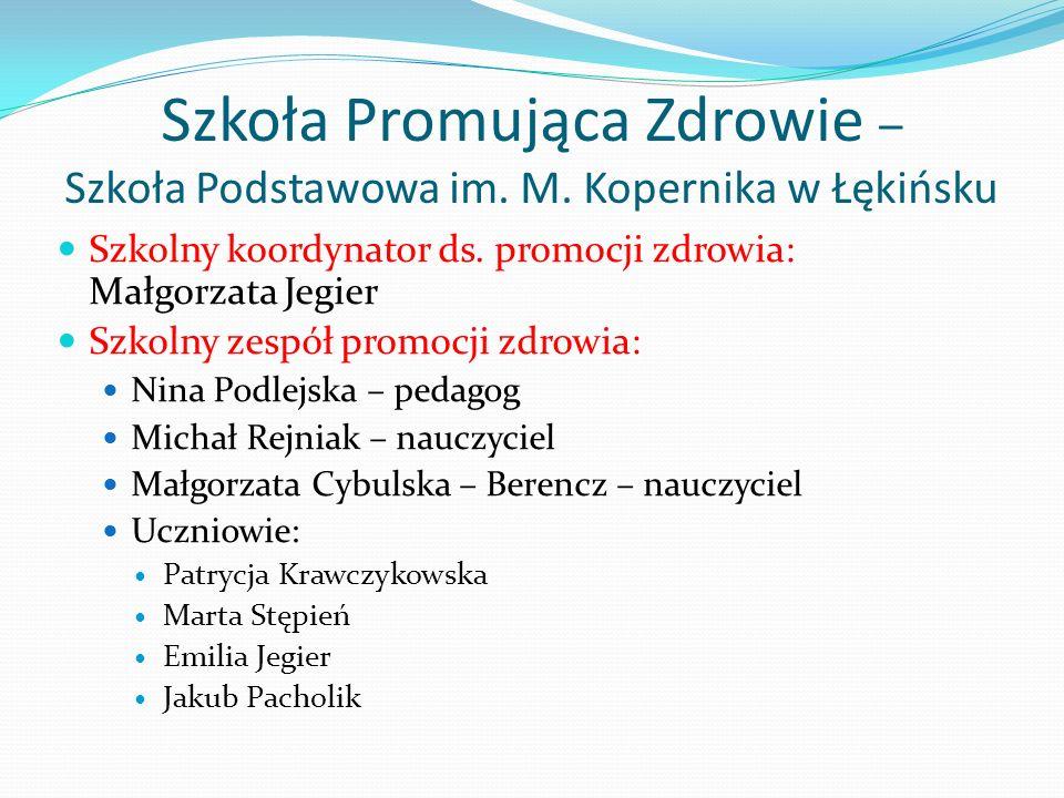 Szkoła Promująca Zdrowie – Szkoła Podstawowa im. M