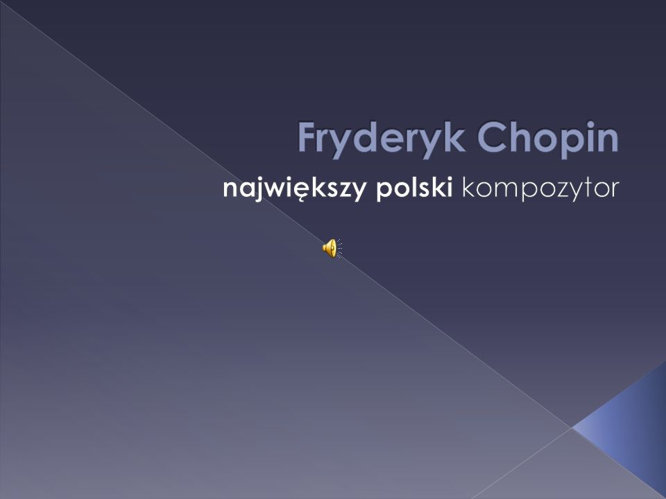 największy polski kompozytor