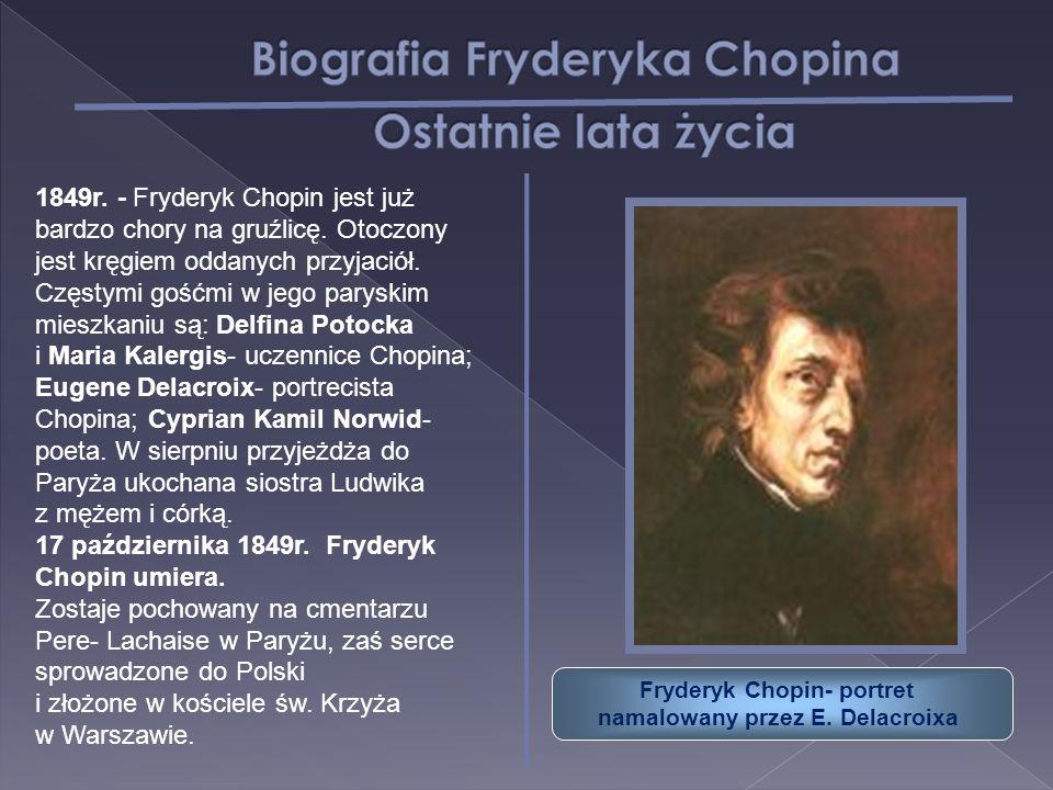 Fryderyk Chopin- portret