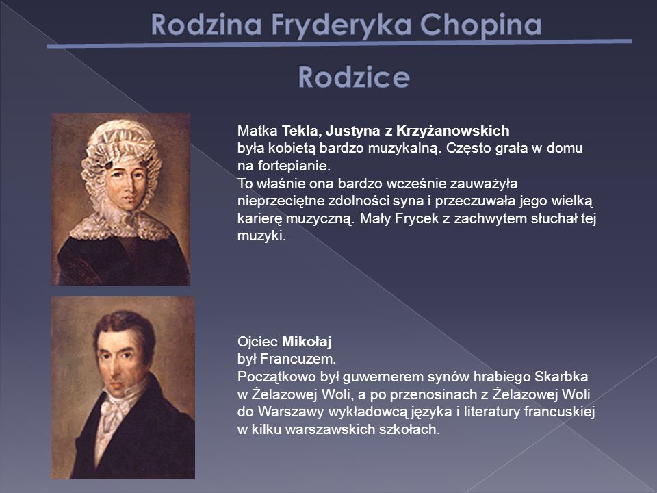Rodzina Fryderyka Chopina