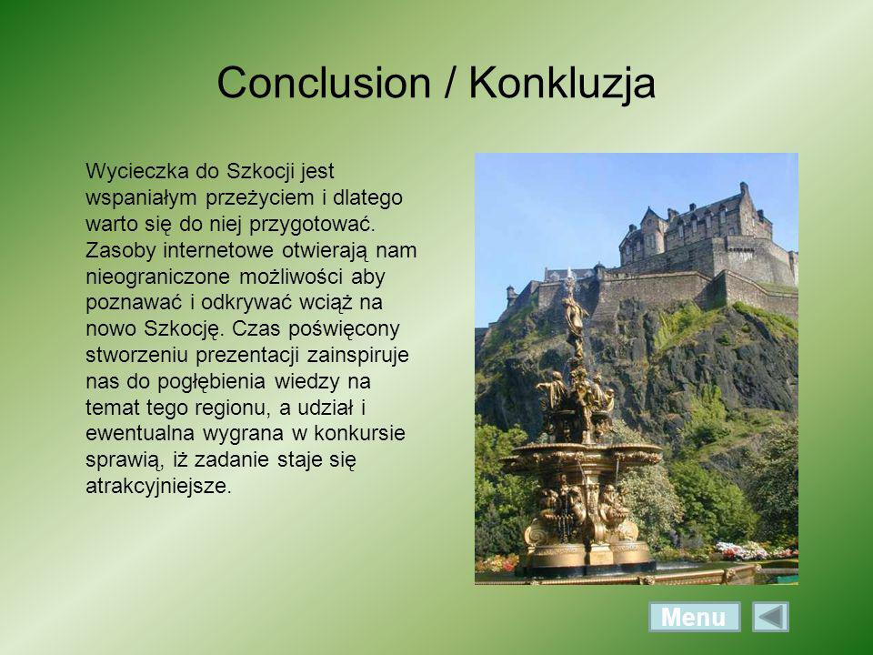 Conclusion / Konkluzja
