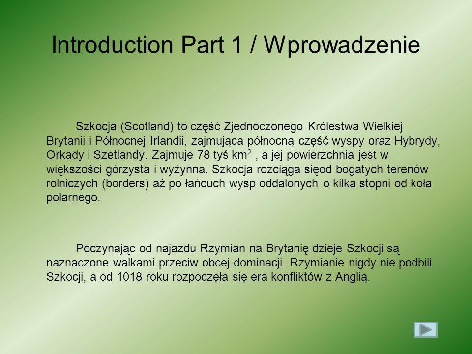 Introduction Part 1 / Wprowadzenie