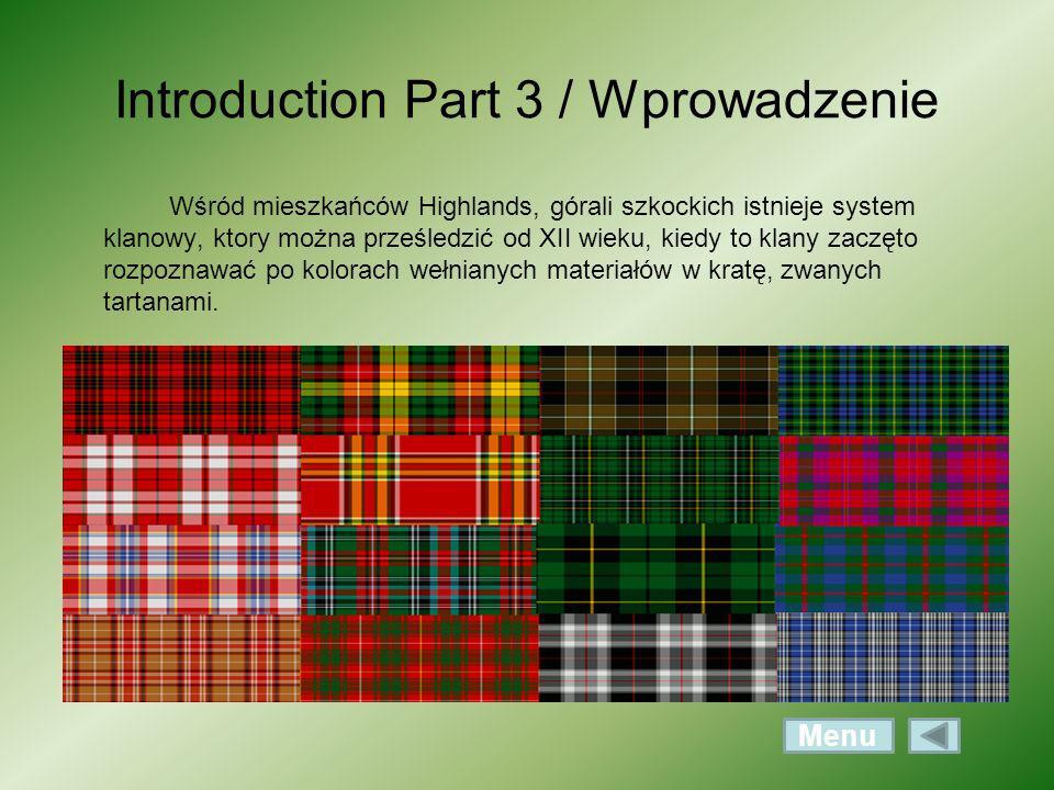 Introduction Part 3 / Wprowadzenie