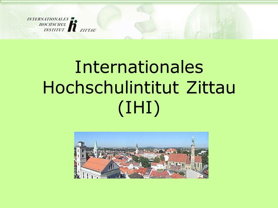 Internationales Hochschulintitut Zittau (IHI)
