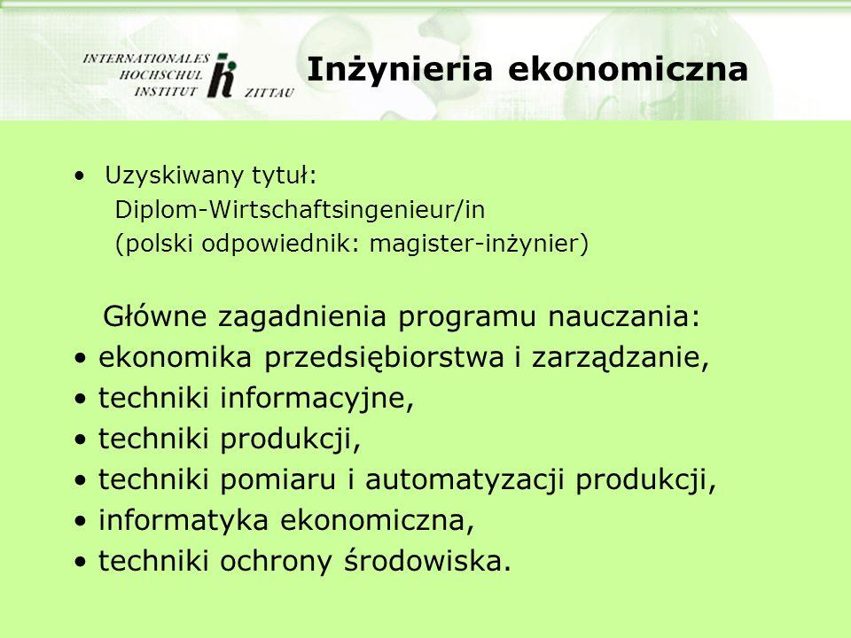 Inżynieria ekonomiczna