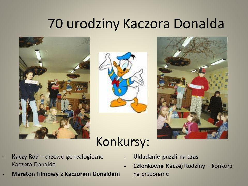 70 urodziny Kaczora Donalda