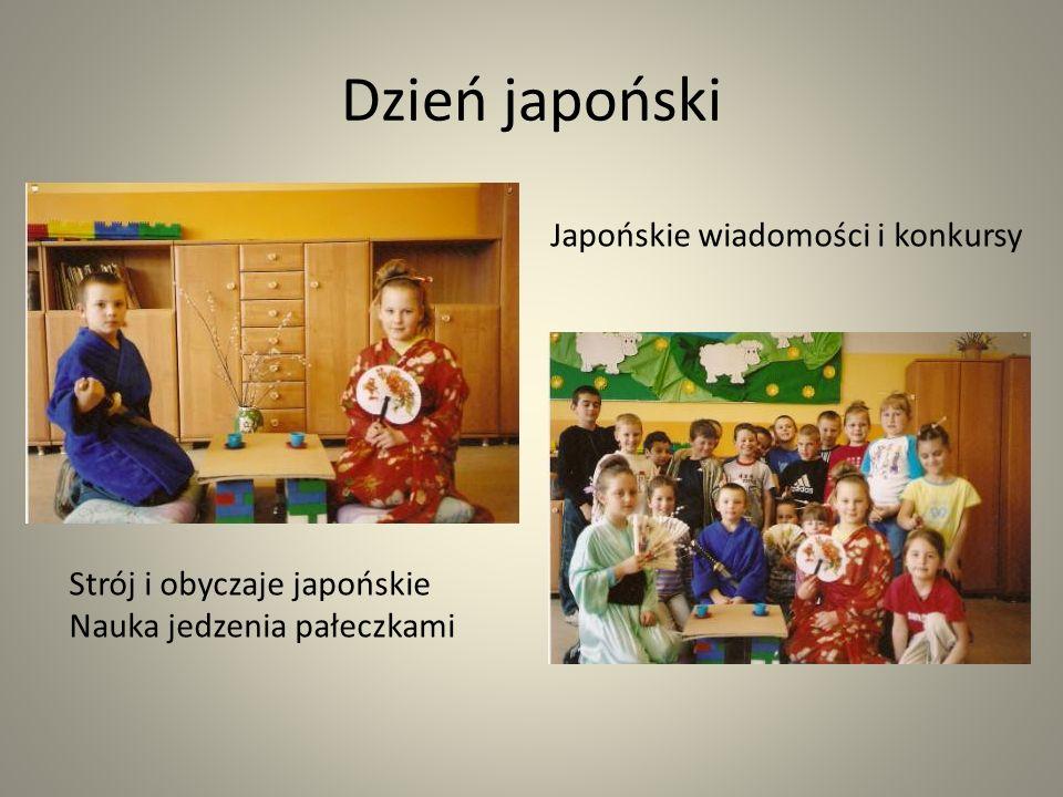 Dzień japoński Japońskie wiadomości i konkursy