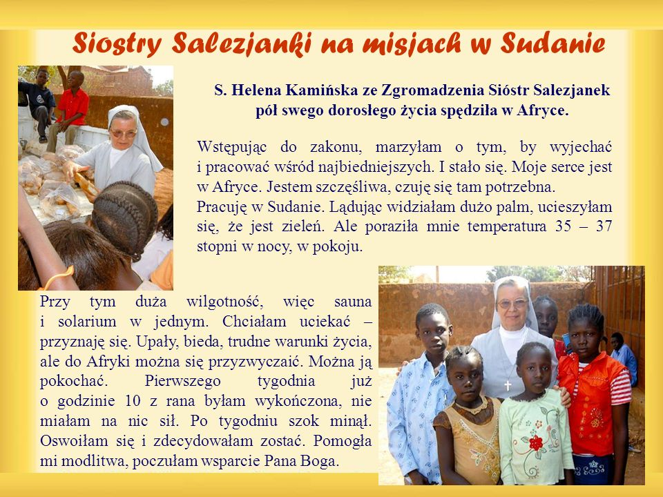 Siostry Salezjanki na misjach w Sudanie