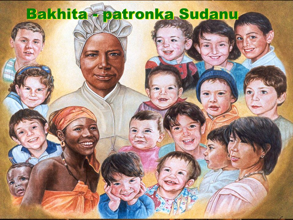 Bakhita - patronka Sudanu