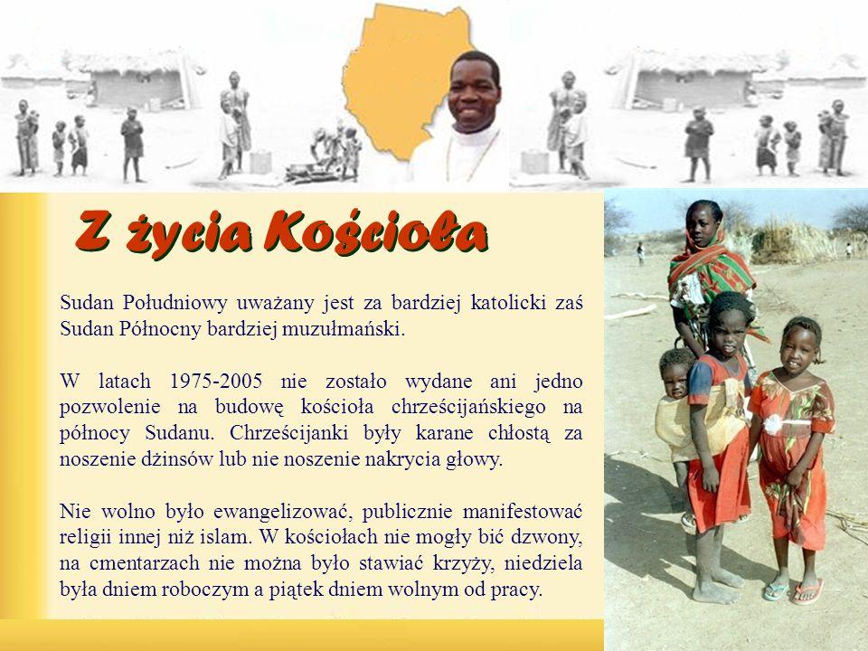 Sudan Południowy uważany jest za bardziej katolicki zaś Sudan Północny bardziej muzułmański.