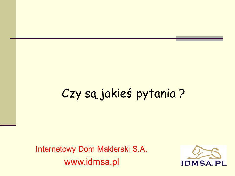 Internetowy Dom Maklerski S.A.