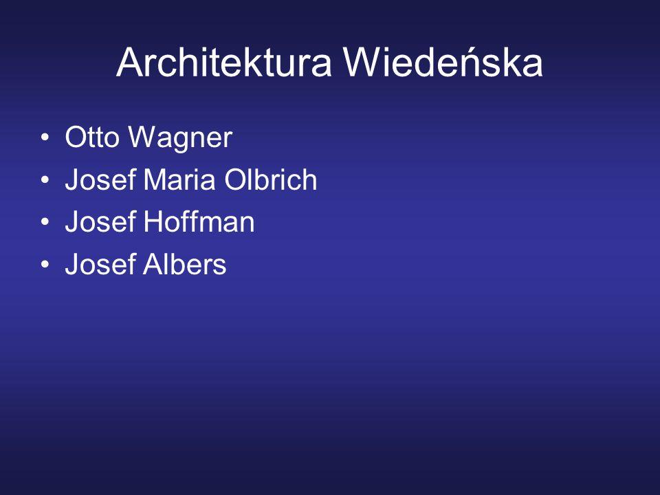 Architektura Wiedeńska