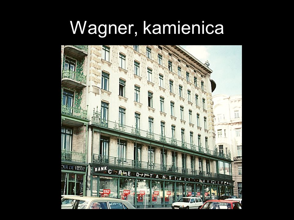 Wagner, kamienica