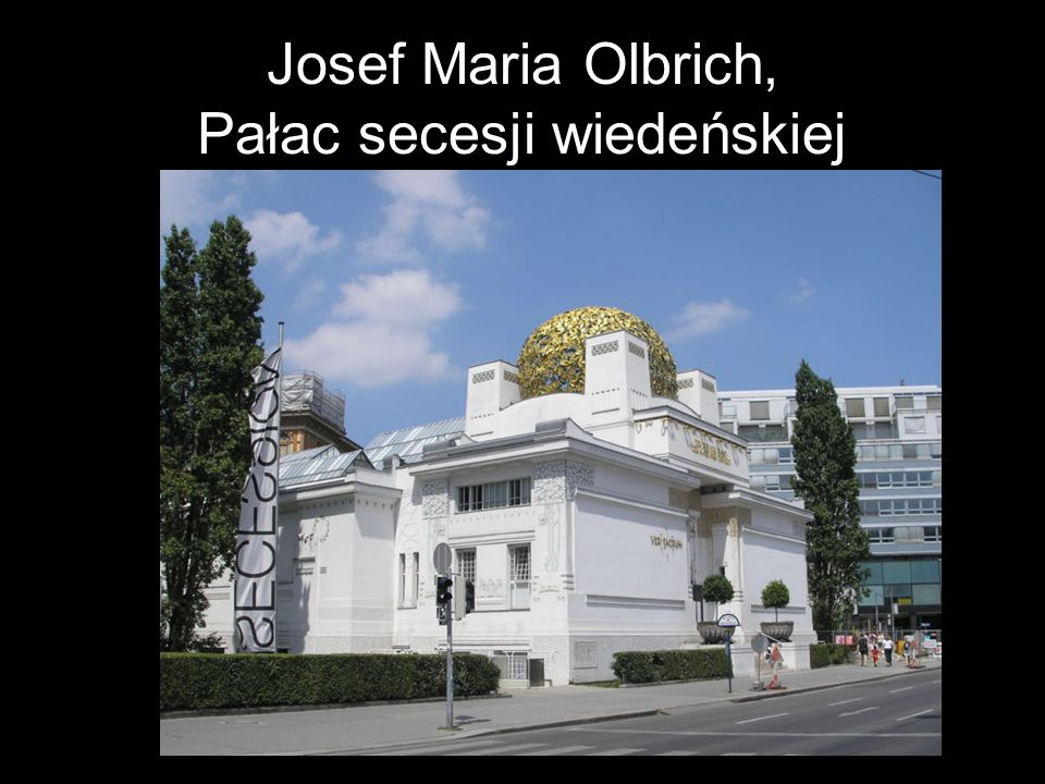 Josef Maria Olbrich, Pałac secesji wiedeńskiej