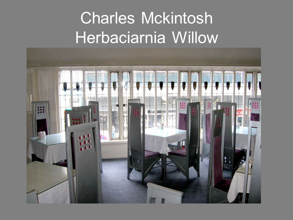 Charles Mckintosh Herbaciarnia Willow