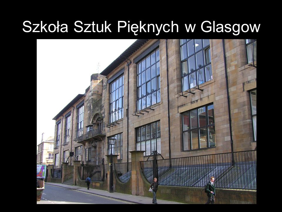 Szkoła Sztuk Pięknych w Glasgow