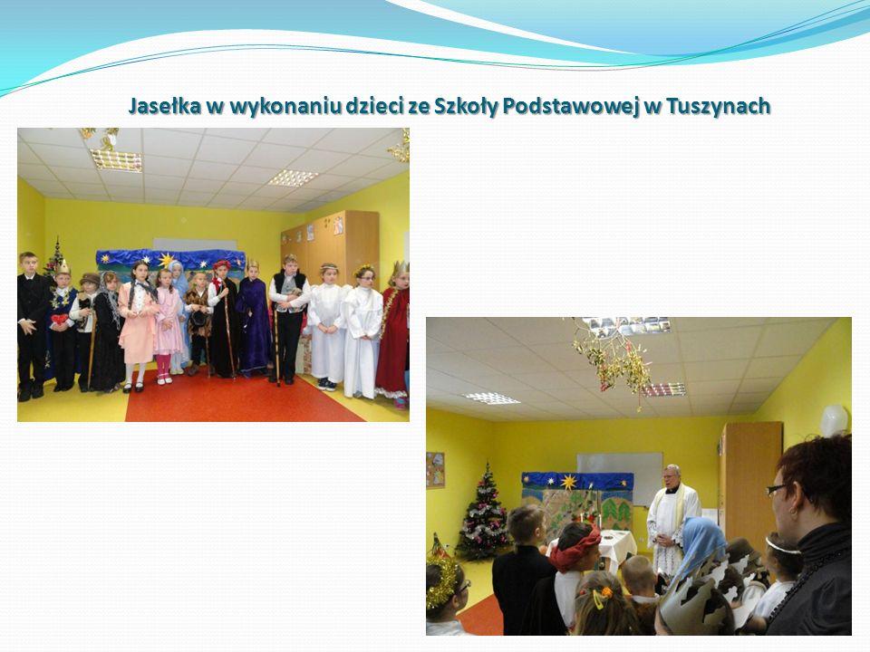 Jasełka w wykonaniu dzieci ze Szkoły Podstawowej w Tuszynach