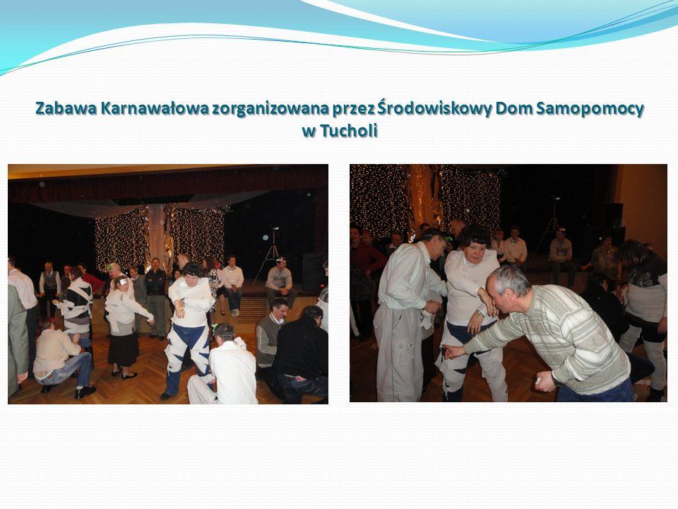 Zabawa Karnawałowa zorganizowana przez Środowiskowy Dom Samopomocy w Tucholi