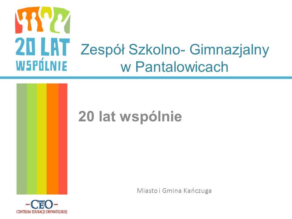 Zespół Szkolno- Gimnazjalny w Pantalowicach