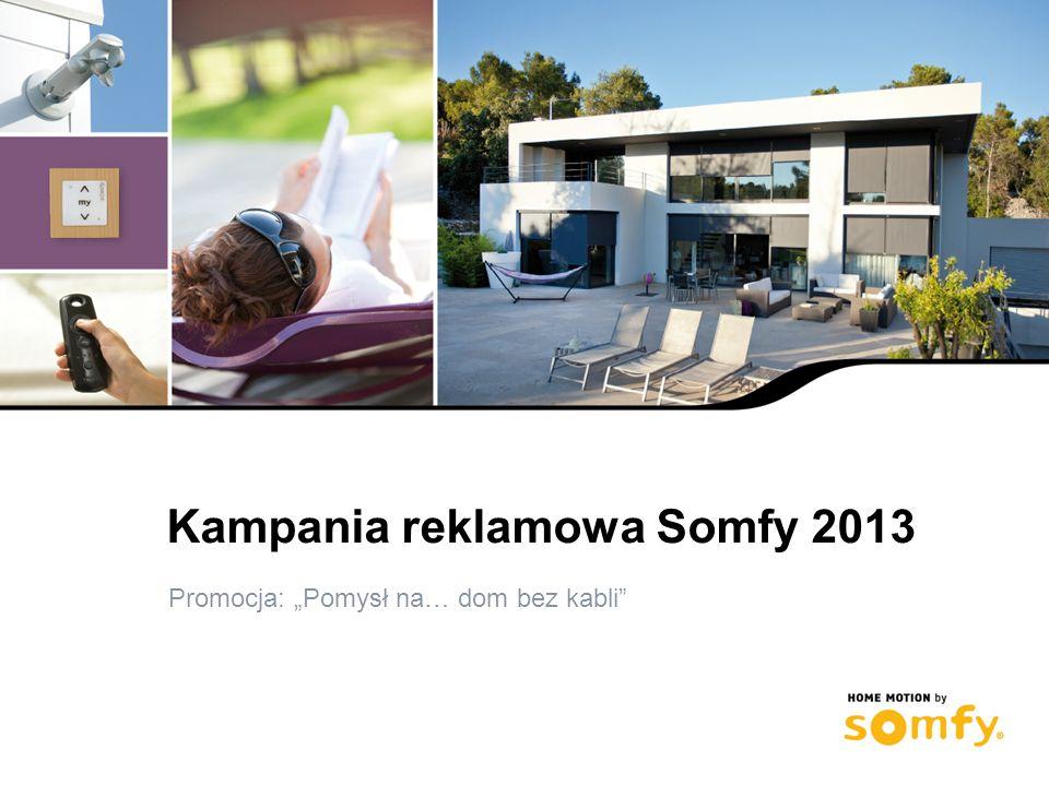 Kampania reklamowa Somfy 2013