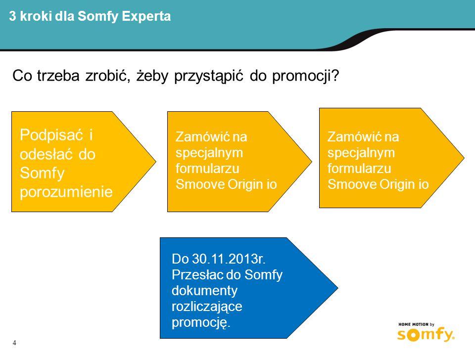 3 kroki dla Somfy Experta