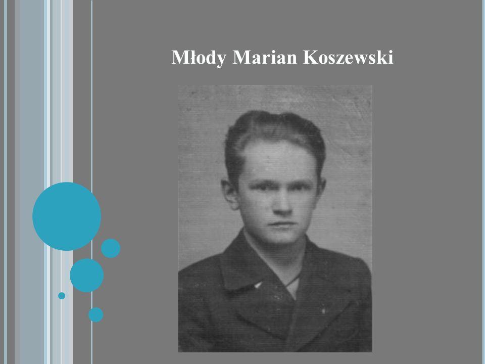 Młody Marian Koszewski