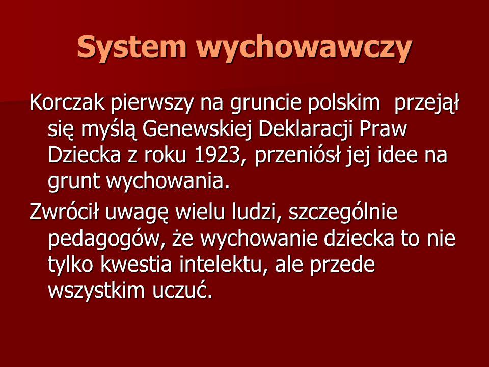 System wychowawczy