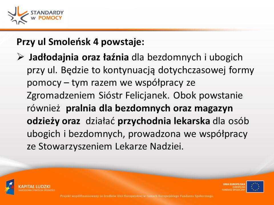 Przy ul Smoleńsk 4 powstaje: