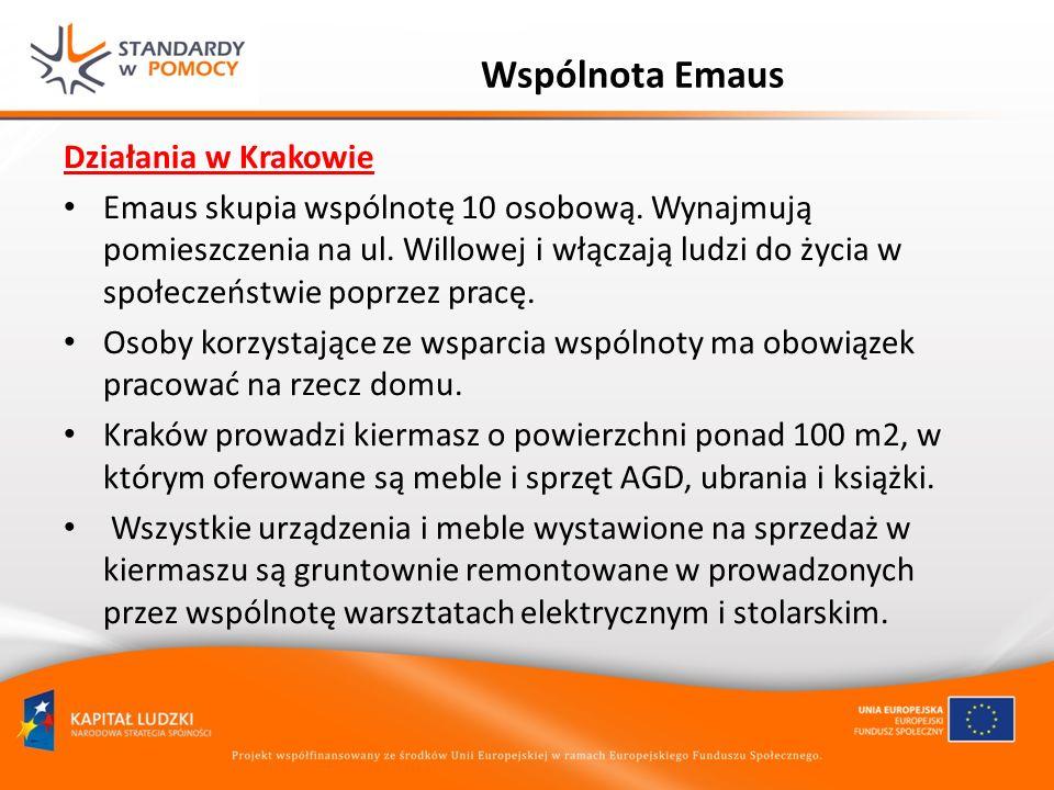 Wspólnota Emaus Działania w Krakowie