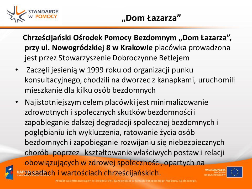 """""""Dom Łazarza"""