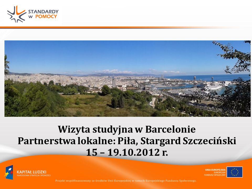 Wizyta studyjna w Barcelonie