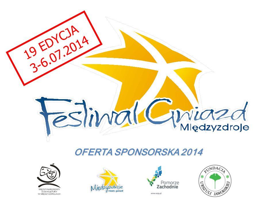19 EDYCJA 3-6.07.2014 OFERTA SPONSORSKA 2014