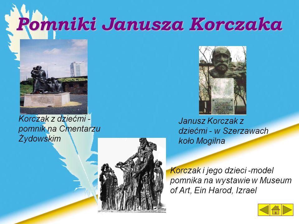 Pomniki Janusza Korczaka