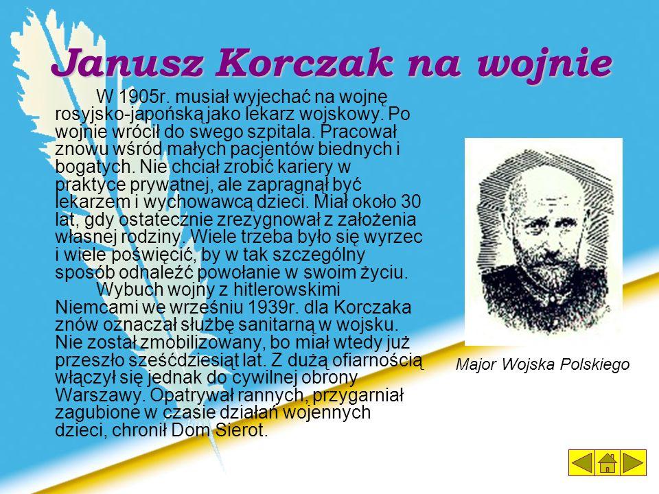 Janusz Korczak na wojnie