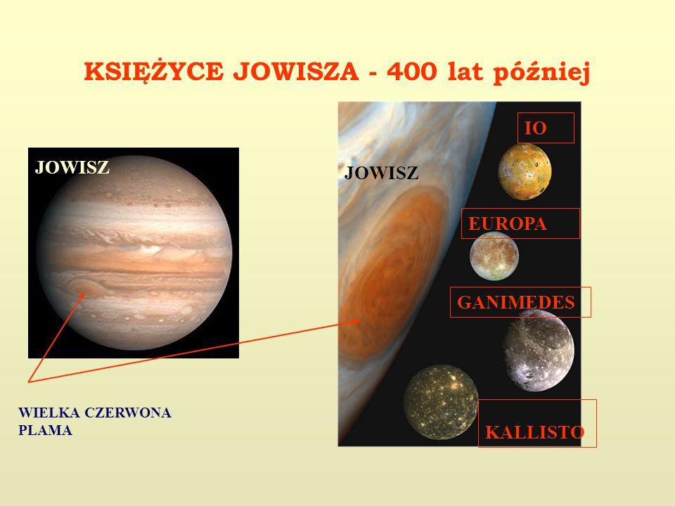 KSIĘŻYCE JOWISZA - 400 lat później