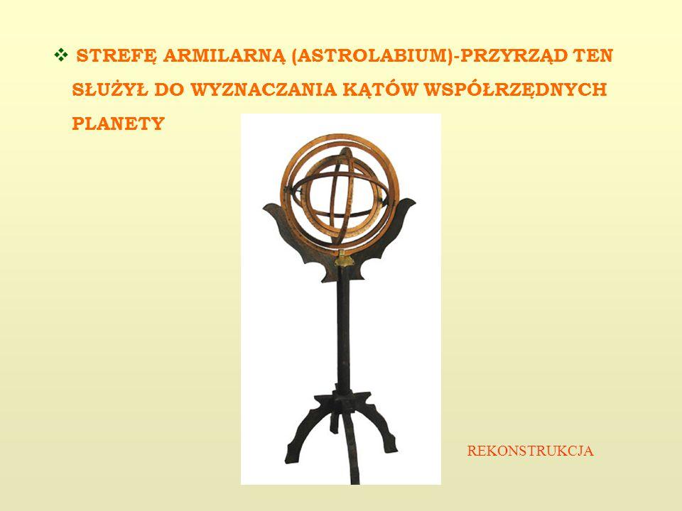 STREFĘ ARMILARNĄ (ASTROLABIUM)-PRZYRZĄD TEN