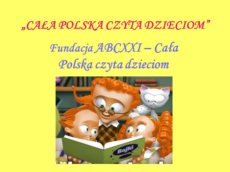"""""""CAŁA POLSKA CZYTA DZIECIOM"""