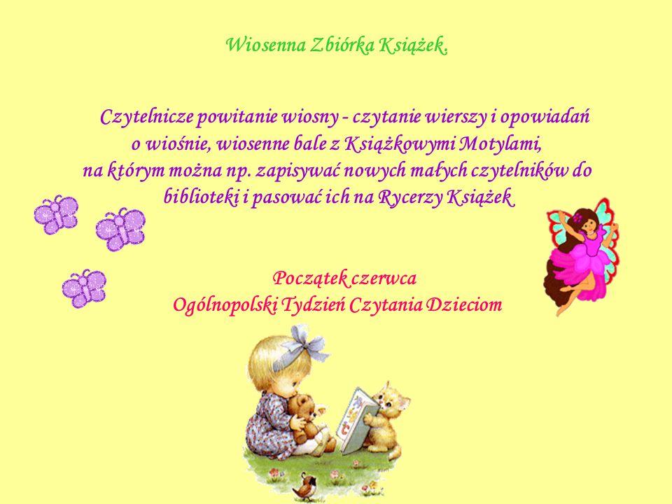 Wiosenna Zbiórka Książek