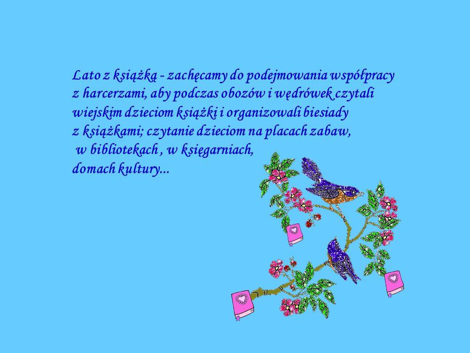 Lato z książką - zachęcamy do podejmowania współpracy