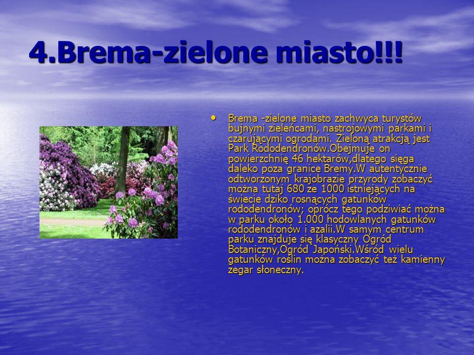 4.Brema-zielone miasto!!!