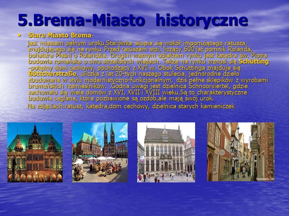 5.Brema-Miasto historyczne